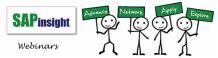 Webinars for SAPinsight