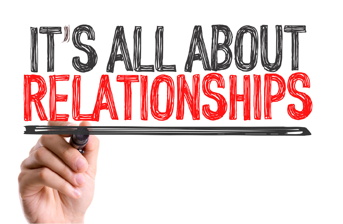 Training A key component of building business relationships
